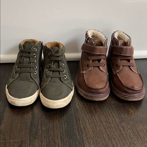 Boys high tops Cat and Jack shoes